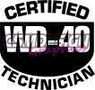 Certified WD40 Technician