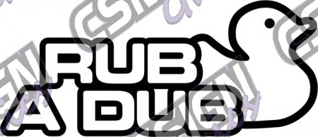 Rub a Dub Outline