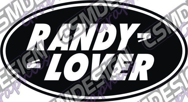 RANDY LOVER - Click Image to Close
